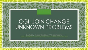 CGI Join Change Unknown, Set of 10 Problems