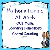 CGI Math Number Talks: Counting Collections and Choral counting Fourth Grade