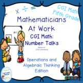CGI Math Number Talks: Algebra and Algebraic Operations Fi