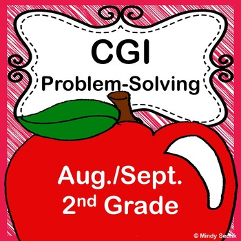 CGI Math Bundle- August and September 2nd Grade