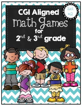 CGI Math Games Set #2 for 2nd-3rd Grade