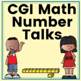 CGI Math Number Talks Bundle