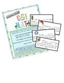 CGI Math Part-Part-Whole Math Journal Prompts