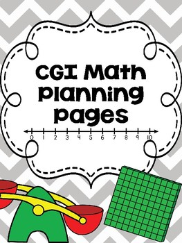 CGI Math Planning Pages