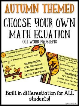 CGI Math Problems: Fall Edition