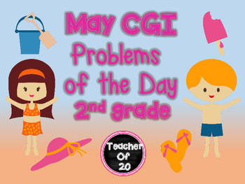CGI Math Word Problem of the Day {May} 2nd Grade