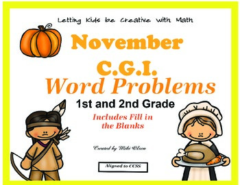 C.G.I Common Core Math November