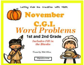 C.G.I Common Core Math November