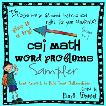 CGI Math Word Problems Sampler