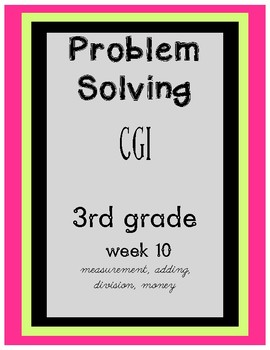 CGI Problem Solving Week 10