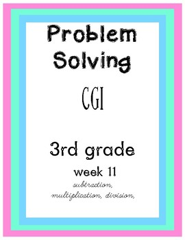 CGI Problem Solving Week 11