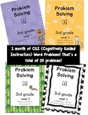 CGI Problem Solving Weeks 1-4 Bundle!