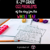 CGI Problem of the Day K-2nd {Math Word Problems-September-May}