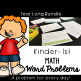 CGI Problem of the Day K-1st: Sept to May {Math Word Problems} Back to School