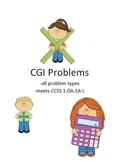 CGI Problems (CCSS aligned)