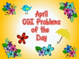 #springsavings CGI Word Problem of the Day {April}