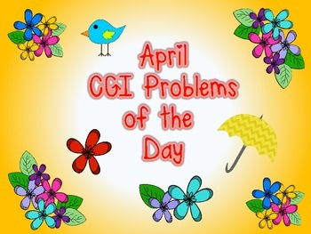 CGI Problems of the Day {April}