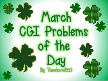 CGI Problems of the Day {March}