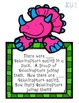 CGI Word Problem TASK CARDS (dino frames)