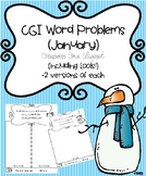 CGI Word Problems (January) Common Core Aligned (including tools)