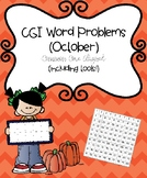 CGI Word Problems (October) Common Core Aligned (including tools)