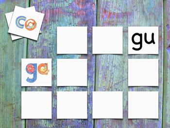 CGR Syllables Memory Game - Juego de memoria de las sílabas CGR