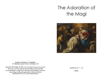 CGS Visitation of the Magi White Scripture Booklet - Episcopal