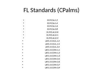 CH 16-18 Gilded Era Issues & Progressive Era Reforms (Florida US EOC)