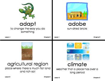 CH 2 Our Environment Vocab Cards Grade 3