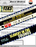 CH. 4 LESSON 3 QUESTIONS Social Studies Textbook: My World Building our Nation