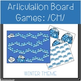 /CH/ Articulation Board Games - Winter Theme