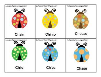 CH Articulation Bug cards