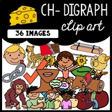 Beginning CH- Digraph Clip Art: Moveable for Paperless Resources