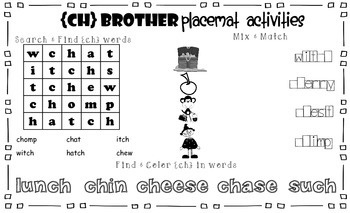 CH Brother Placemat