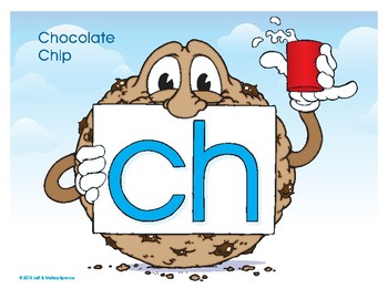 CH (Chocolate Chip) Word Buddy Poster