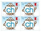 CH (Chocolate Chip) Word Buddy Card