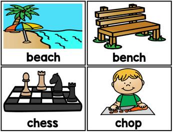Ch Digraph Bingo Game C H Ch