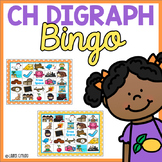 Ch Digraph Bingo Game & A Word Sort C H Ch
