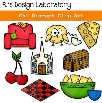 CH- Digraph Clip Art