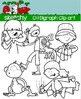Digraphs CH / Word Families Clip art