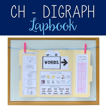 CH - Digraph Lapbook