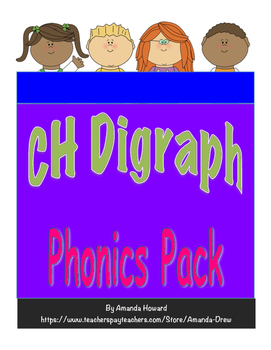 CH Digraph Leveled Phonics Pack