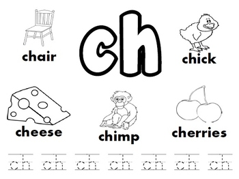 CH Digraph Worksheets!