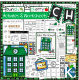 CH Digraph Worksheets and Activities Set