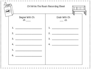 Ch Digraph Write The Room