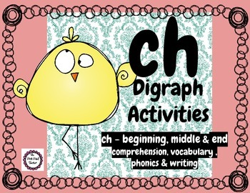 CH Digraph-phonics,comprehension,writing & vocabulary