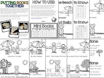 CH Digraphs Phonics Mini Books