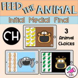 CH Feed the Animal Words Initial Medial Final Articulation