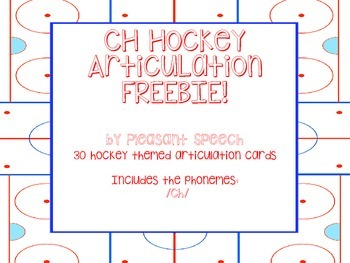 /CH/ Hockey Articulation Freebie!