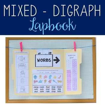 CH/SH/TH - Digraph Lapbook
